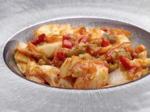Bacalao Al Ajoarriero En Monsieur Cuisine